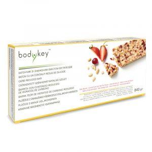 Barrita de Frutos del Bosque baja en carbohidratos bodykey