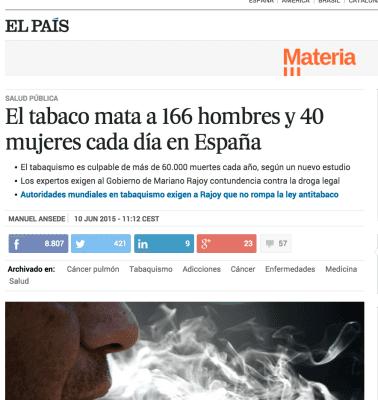 muerte por tabaco