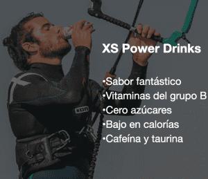 Bebida energética natural: XS