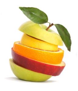 Una dieta variada y colorida