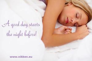 sistema de sueño Nikken, dormir bien