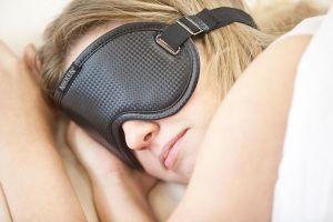 Dormir bien para recuperarse, Un mal sueño, Antifaz para dormir de Nikken
