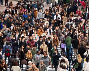 Crecimiento de la población: más de 10 centímetros en siglo y medio